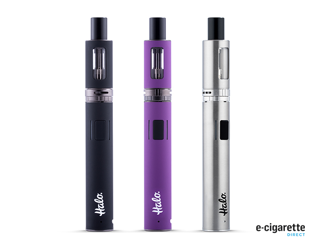 Halo Tank Kit 02 Full Kit Black Purple Silver