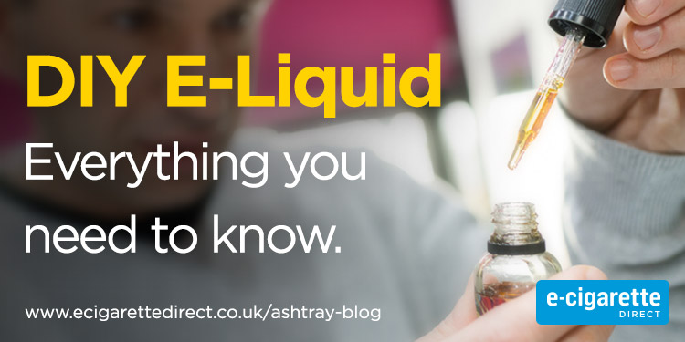 DIY E-Liquid Everything You Need To Know Featured Blog Post Image