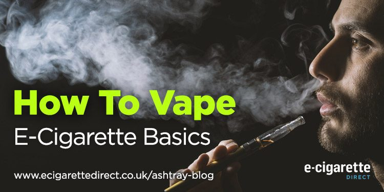 How To Vape - E-Cigarette Basics - Header Image
