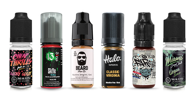 10ml E-liquid Bottles