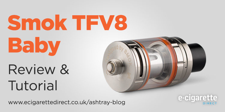 Smok TFV8 Baby Tank Review & Tutorial Featured Image