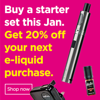 New Year New You: Huge savings on beginner vaping sets