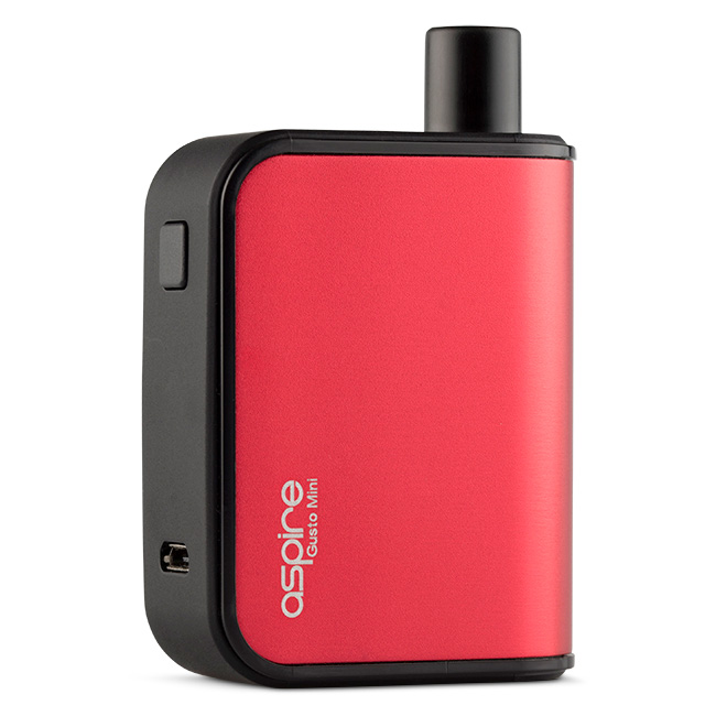 Aspire Gusto Mini Pod System Red Vape Kit