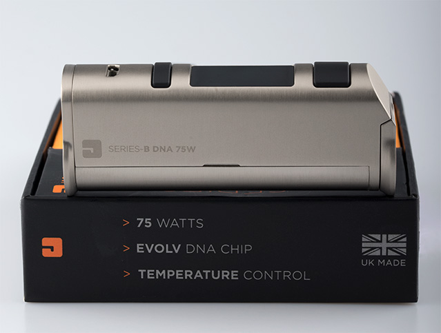 Jac Vapour Series B DNA 75W and box