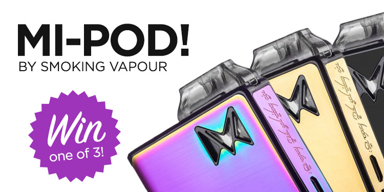 Win1 of 3 Mi-Pod Vape Kits