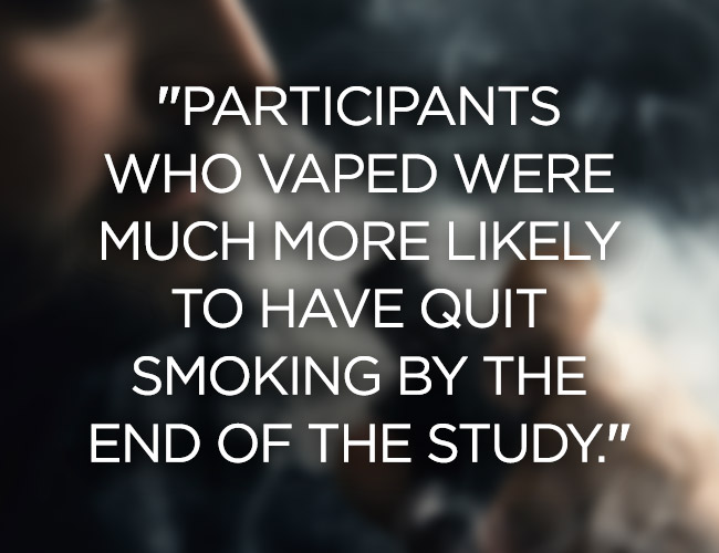 vaping study quote