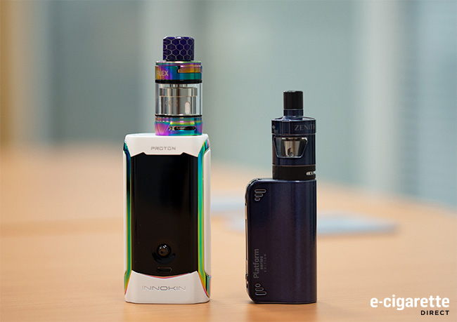Coolfire Mini and Zenith D22 Kit with Innokin Proton Plex Kit