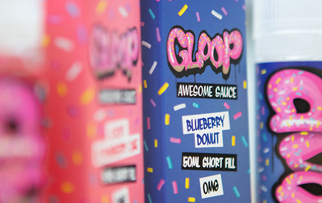 Gloop short fill e-liquid