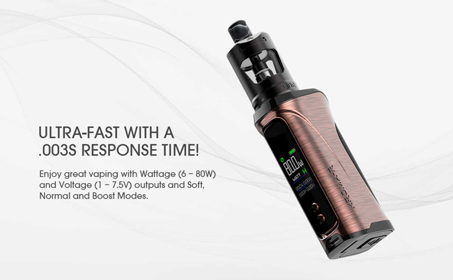 The Innokin Kroma A comes with a super fast response time.