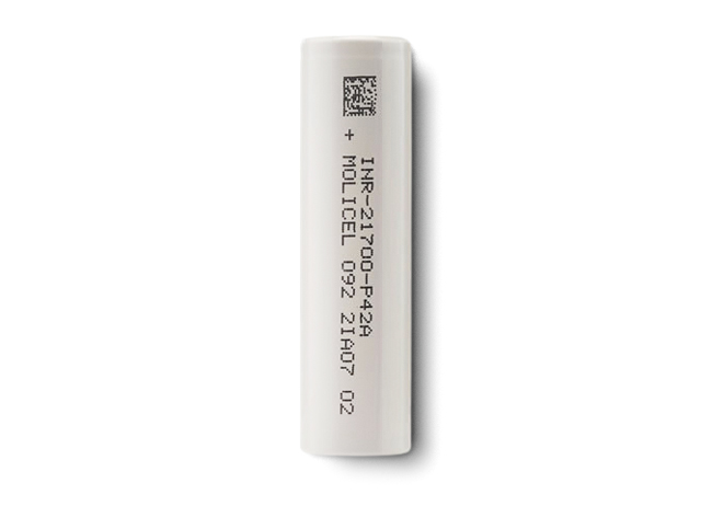 Molicell battery.