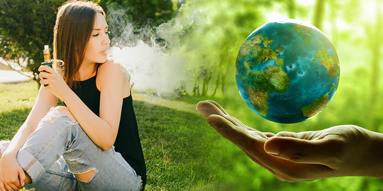 Vaping and the environment
