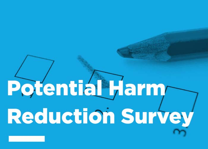 Potential Harm Reduction Survey