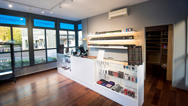 ECigaretteDirect store in Abergavenny.