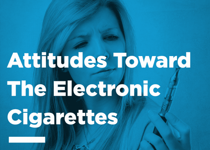 Attitudes Toward Electronic Cigarettes