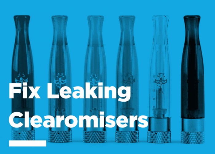 How To Fix Leaking Clearomisers