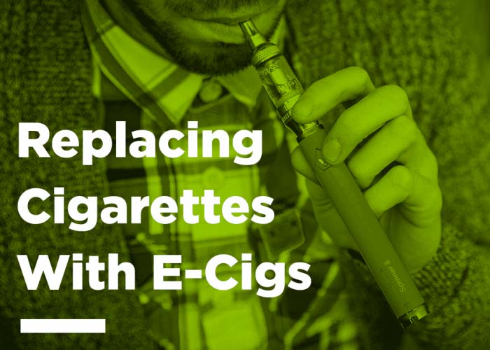 Replacing Cigarettes With Ecigs