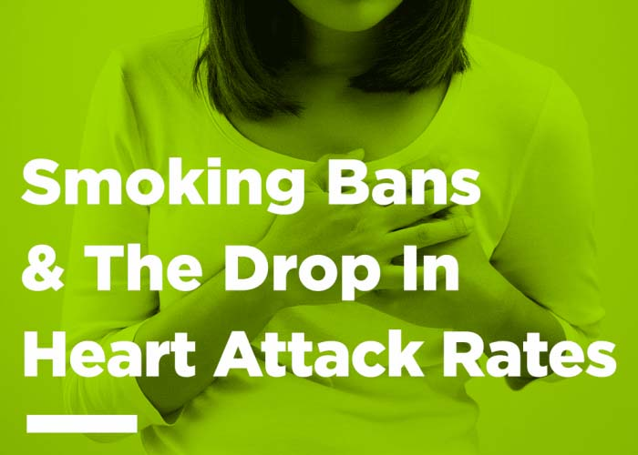 Smoking Bans VS Drop In Heart Attack Rates