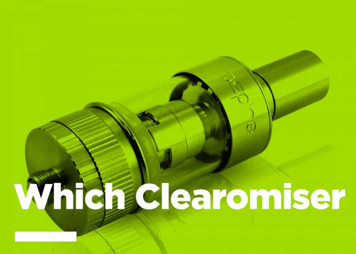 Which Clearomiser Is Right For Me