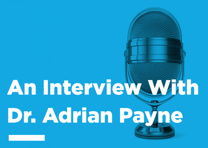 Interview with Adrian Payne
