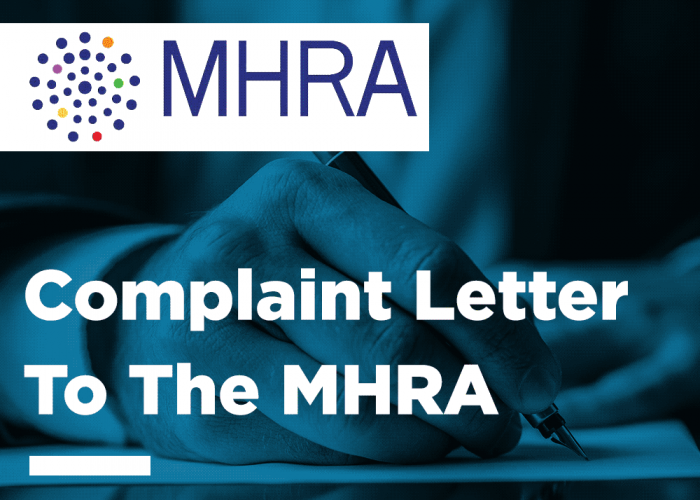 Complaint to the MHRA