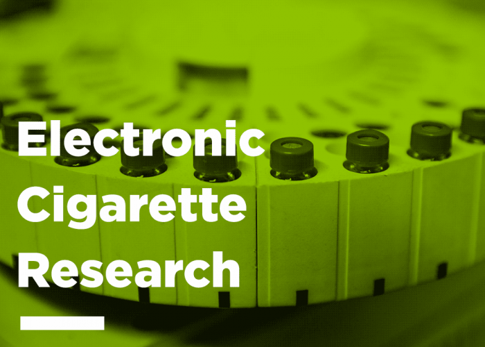Electronic Cigarette research