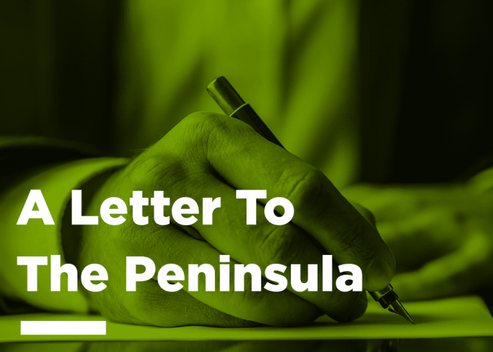 A letter to the peninsula