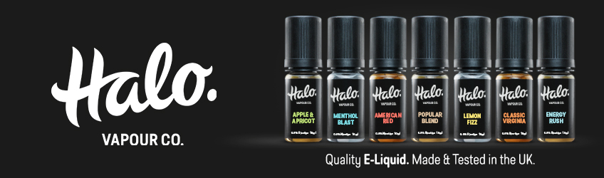 Halo Vapour Co. UK Made E-Liquid