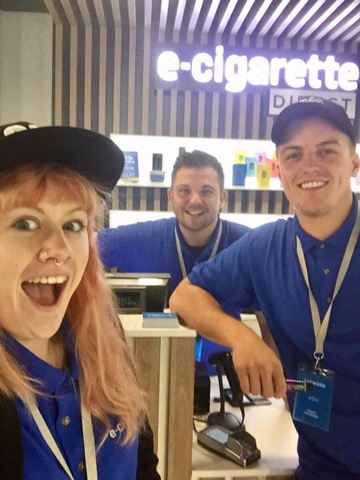 E-Cigarette Direct Staff