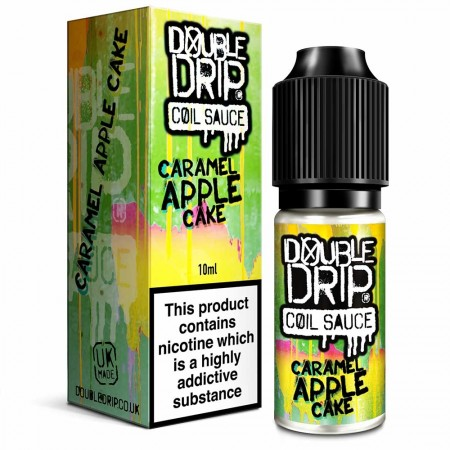 Caramel Apple Cake | Double Drip E-Liquid