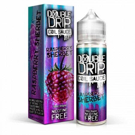 Raspberry Sherbet | Double Drip Shortfills