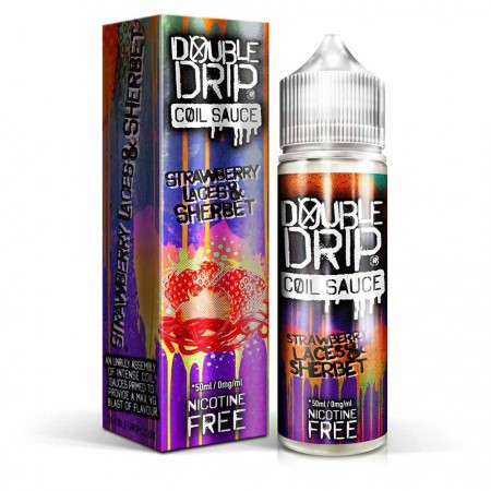 Strawberry Laces and Sherbet | Double Drip Shortfills
