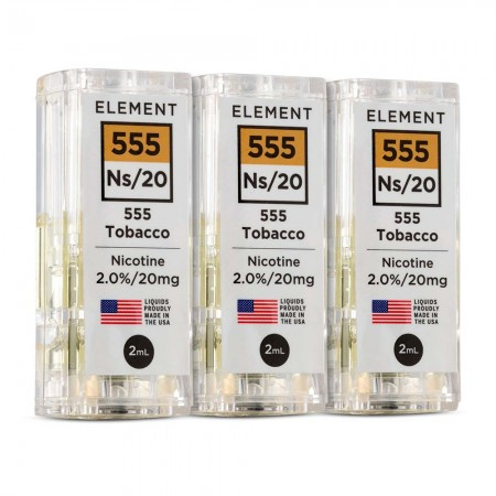 Element NS20 - 555 Tobacco 3 Pack