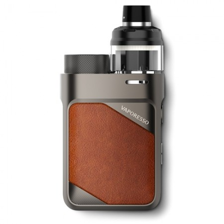 Vaporesso Swag PX80 Leather Brown