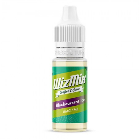 Blackcurrant Ice WizMix E-Liquid