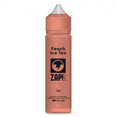 Peach Ice Tea | Zap! Juice 50ml