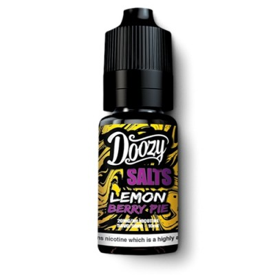 Doozy Vape Lemon Berry Pie Nicotine Salts