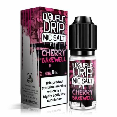 Cherry Bakewell Salts | Double Drip E-Liquid