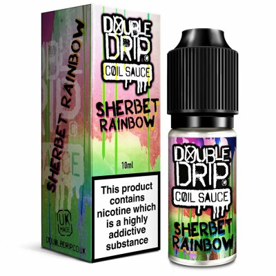 Sherbert Rainbow | Double Drip E-Liquid