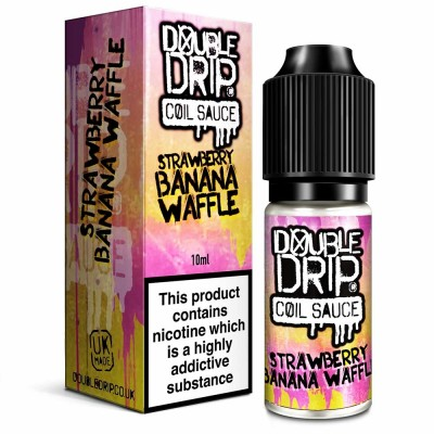 Strawberry & Banana Waffle | Double Drip E-Liquid