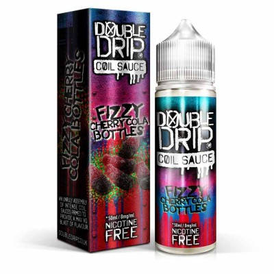 Fizzy Cherry Cola Bottles | Double Drip Shortfills