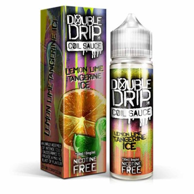 Lemon Lime Tangerine Ice | Double Drip Shortfills