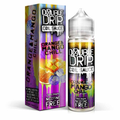 Orange and Mango Chill | Double Drip Shortfills