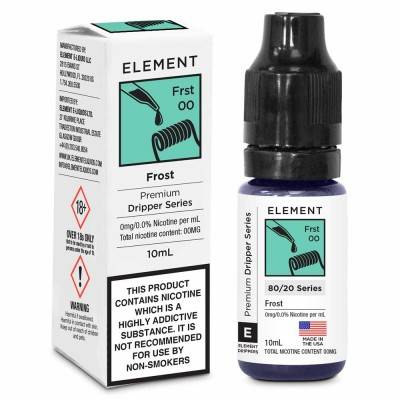 Frost Element Dripper E-Liquid