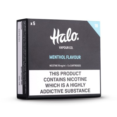 Halo Menthol E-Cig Cartridges