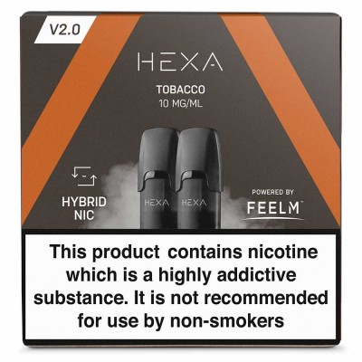 Tobacco | Hexa V2.0 Salt Pods