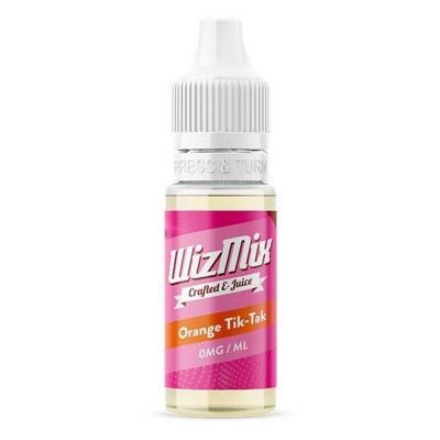 Orange Tik-Tak WizMix E-Liquid