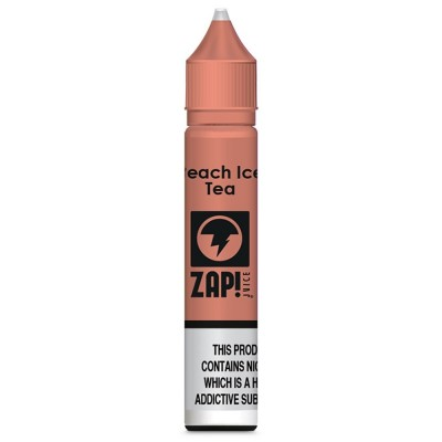Peach Ice Tea | Zap! Juice Nic Salts