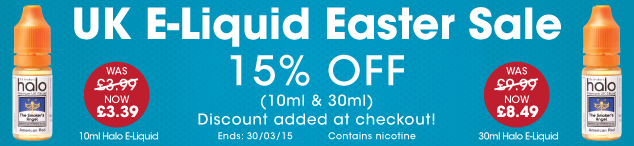 UK E-Liquid Easter Deal