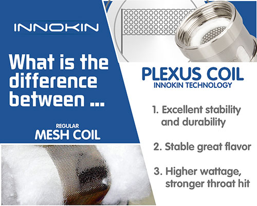 Plexus Coil Advantages