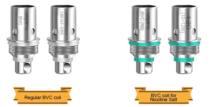 BVC Coil Types